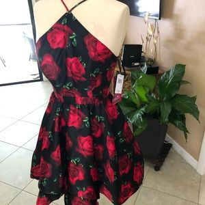 Blondie nites floral dress